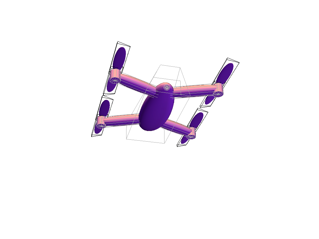 Drone - 3D design by ca6italbeef on Apr 3, 2018