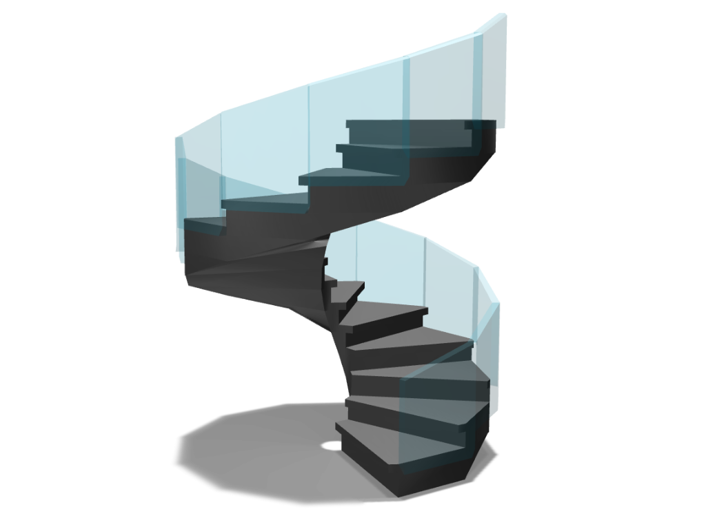 stairway - 3D design by Andy Klement Apr 28, 2017