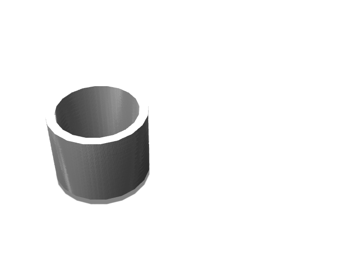Cup - 3D design by isabellagill on Sep 13, 2017