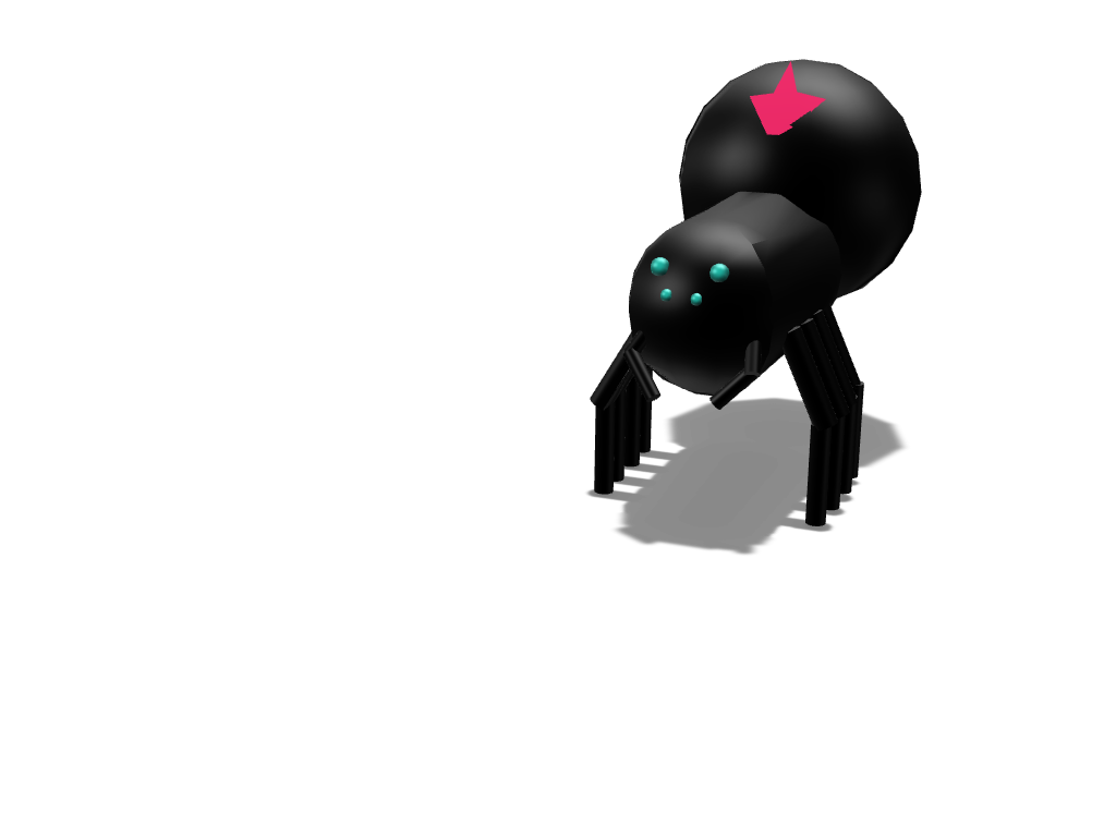 spider - 3D design by cryatonic555 Sep 20, 2017