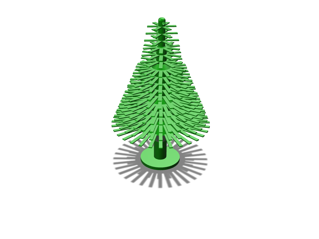 Christmas Tree - 3D design by Odds and Ends on Nov 26, 2017