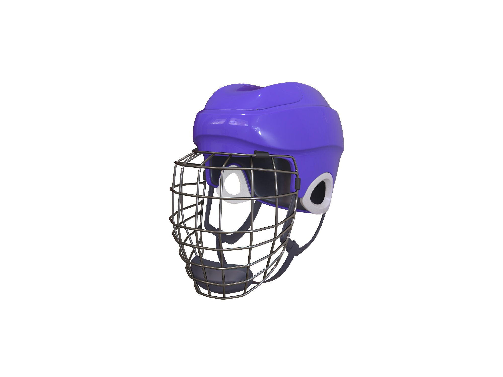 Hockey helmet - 3D design by Vectary assets Jun 4, 2018