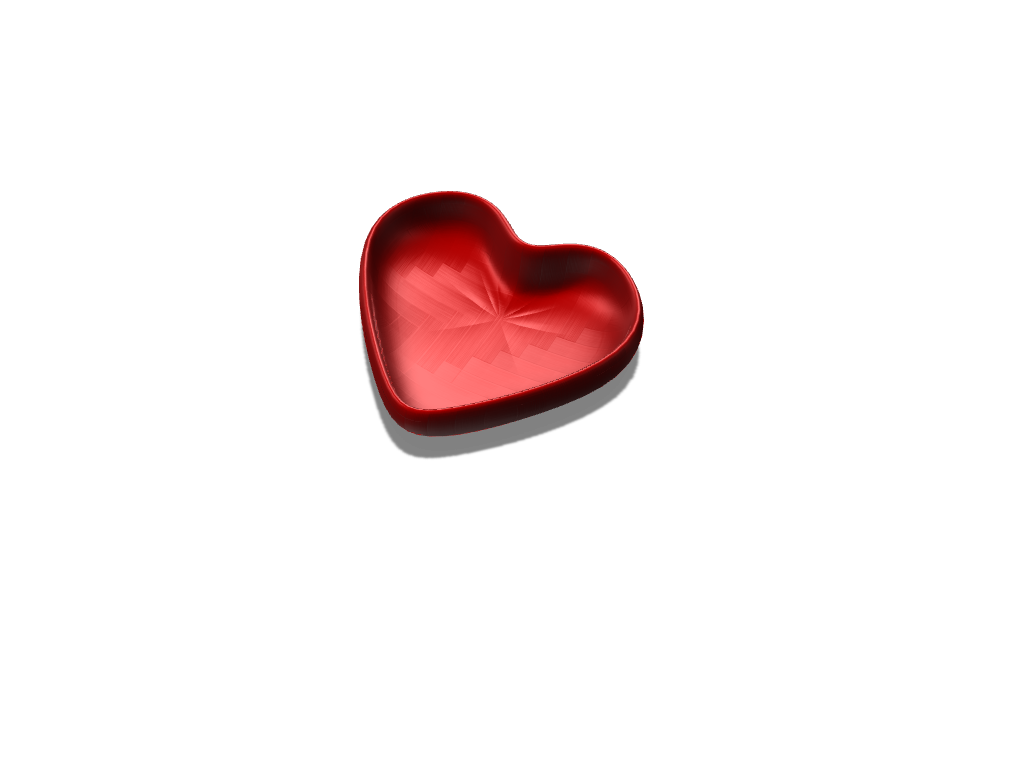 heart - 3D design by Denis P on Oct 17, 2017
