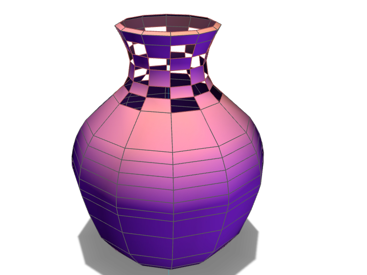 Checkers Vase - 3D design by dbcox911 Aug 15, 2017
