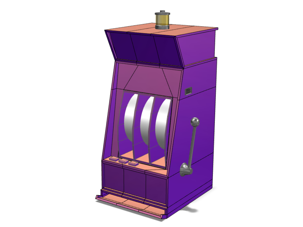 Slot machine - 3D design by Andy Klement Sep 5, 2017