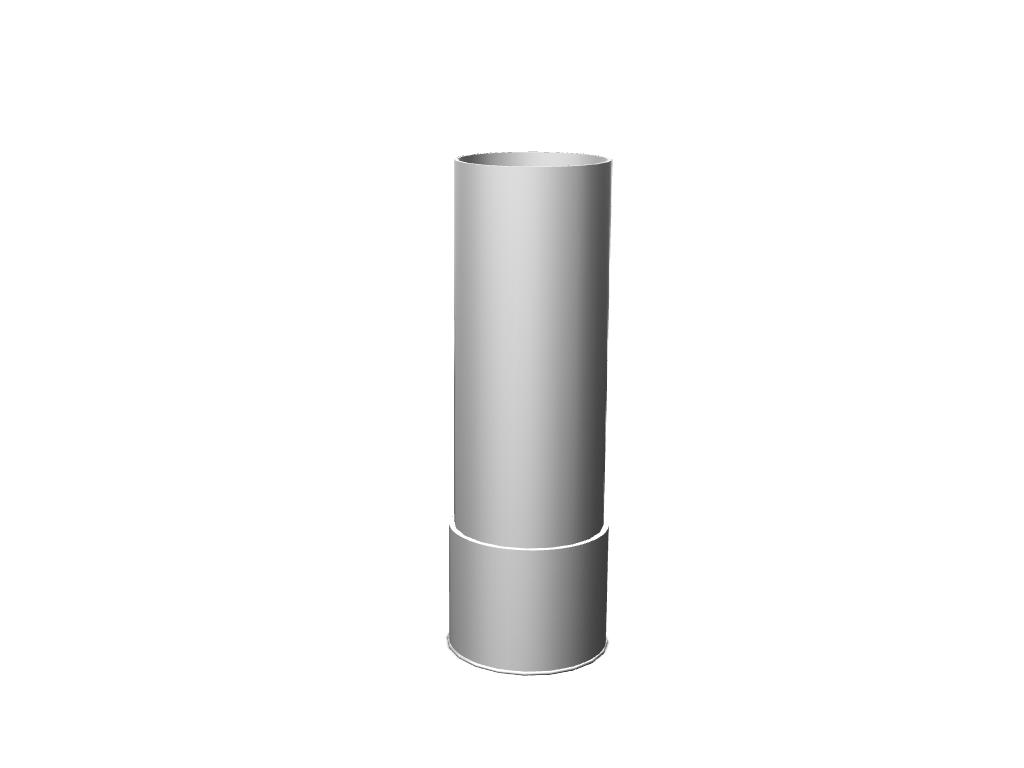 Shotgun Shell vase - 3D design by Braeden Holmstrom Aug 23, 2017