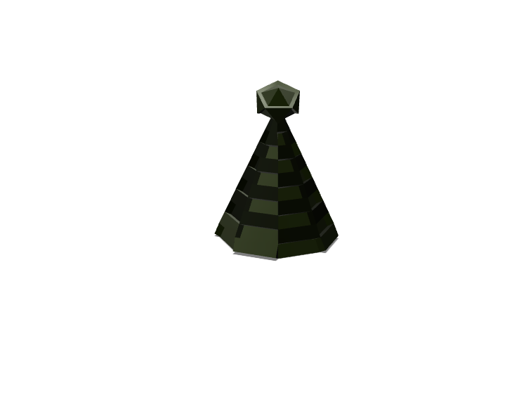 Low Poly Christmas Tree - 3D design by Chris Palangio Dec 10, 2017