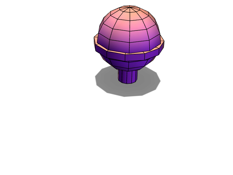 Globe on a stick - 3D design by Jack Harvey Nov 25, 2017