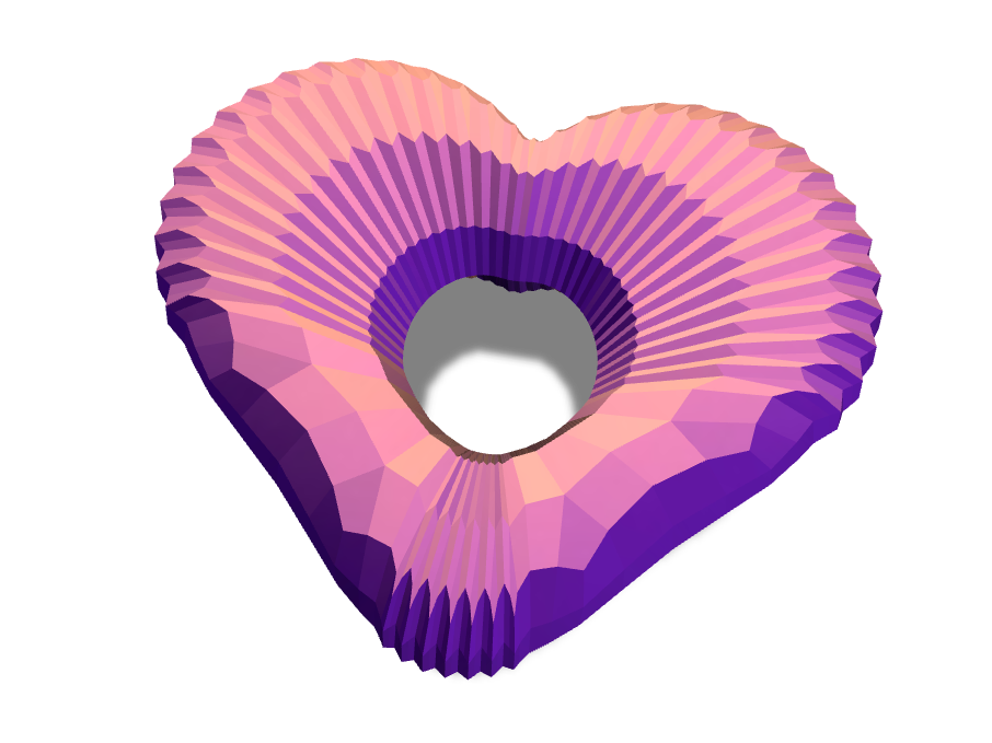 Valentine's heart - 3D design by Milan Gladiš Feb 13, 2017