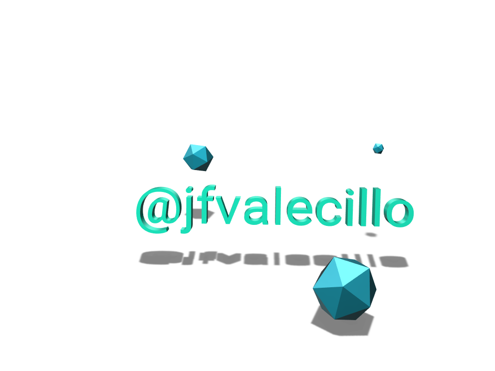 @jfvalecillo - 3D design by Federico Valecillo Feb 28, 2018