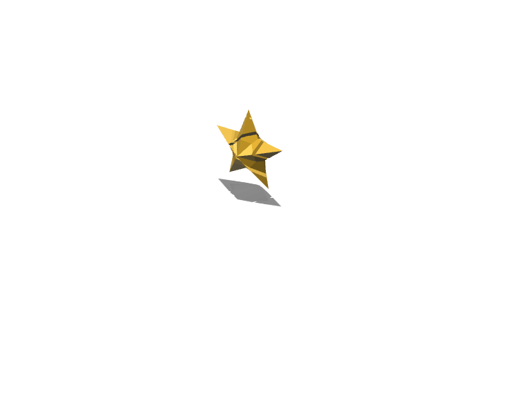 the magic star - 3D design by wbfnitzj19 Dec 5, 2017