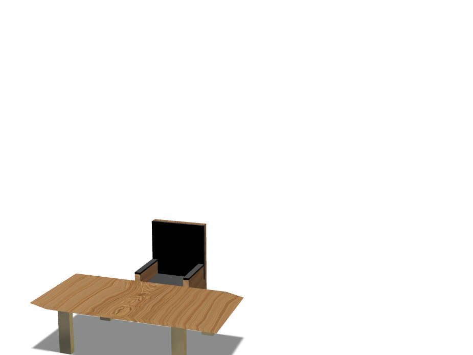 Chair and Table-Memo - 3D design by oparada21 Nov 10, 2017