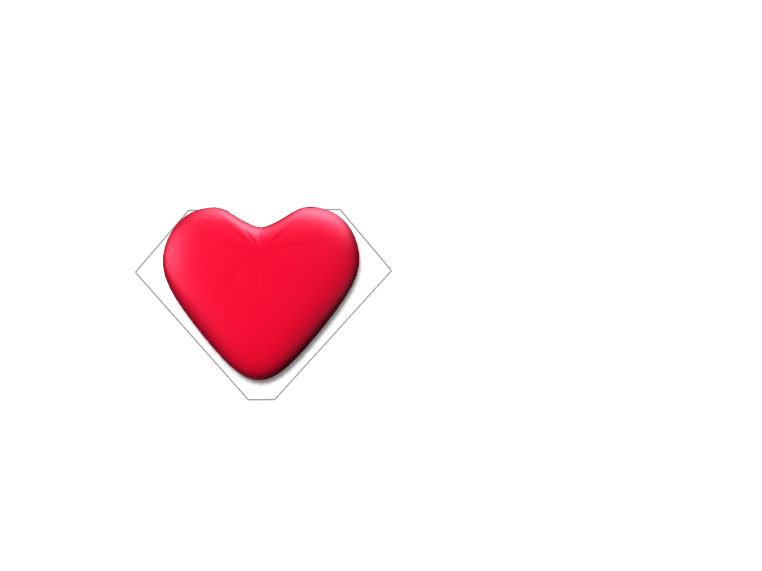 Simple Heart - 3D design by dbarajas-ve Apr 24, 2018