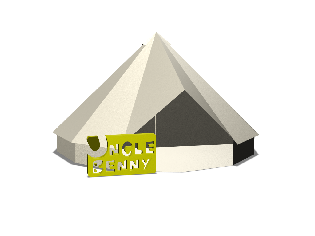 TENT - 3D design by unclebenny2015 Mar 4, 2018
