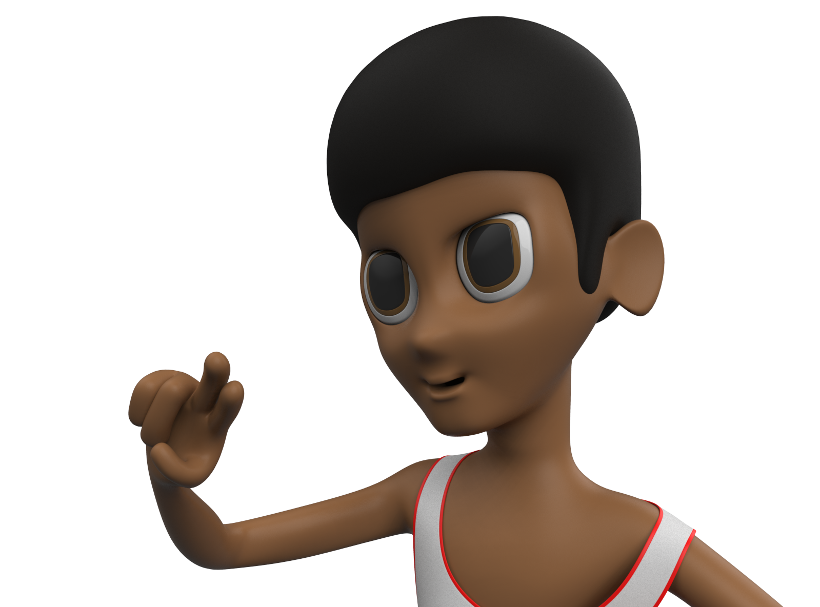 Brandon the Baller - 3D design by meshtush on Jan 20, 2018