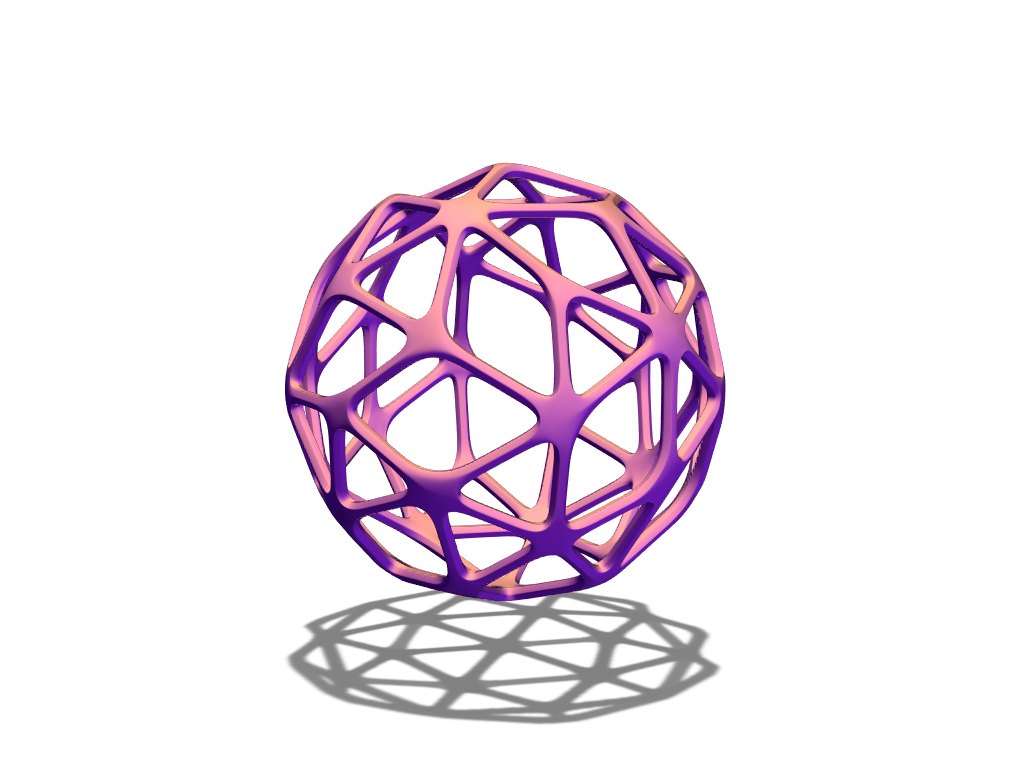 J&W bauble 19 - 3D design by baubleblaster on Dec 22, 2017