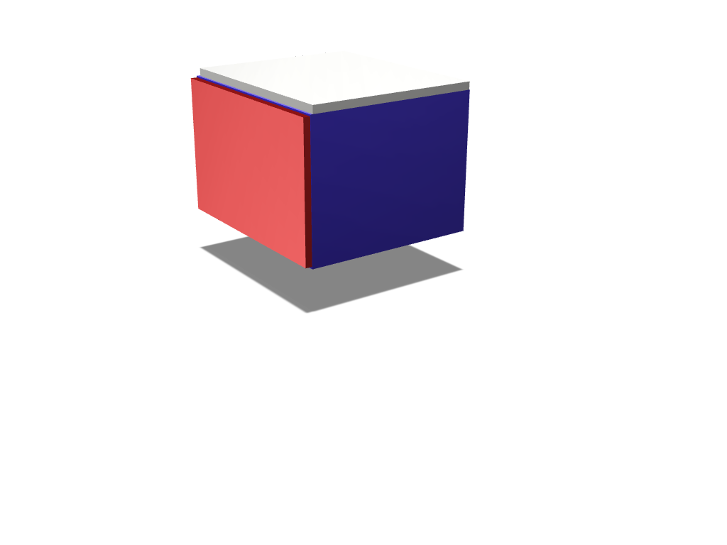 rubik's cube - 3D design by jwe007 May 2, 2018