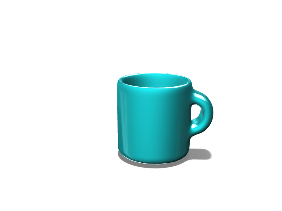 Nicole Foster - Simple Mug - 3D design by lfoster21 on Nov 1, 2017