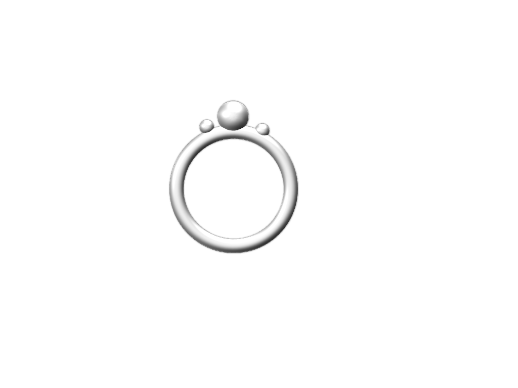 Ivory Ring - 3D design by bibinmickle Nov 8, 2017