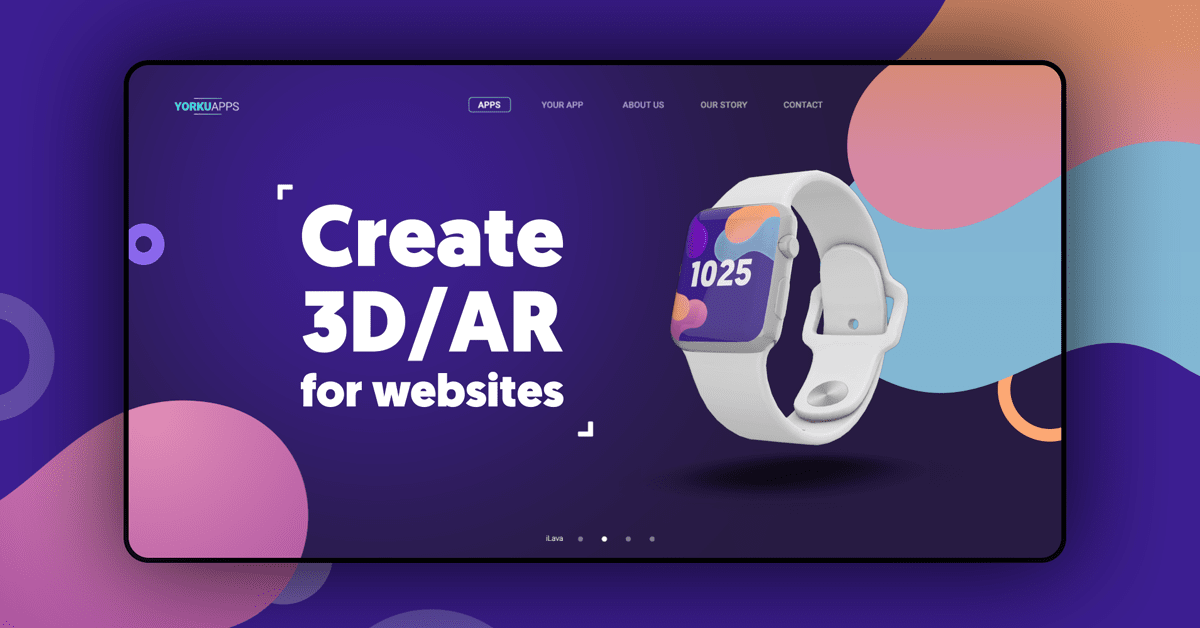 What is 3D web embed and how to use it