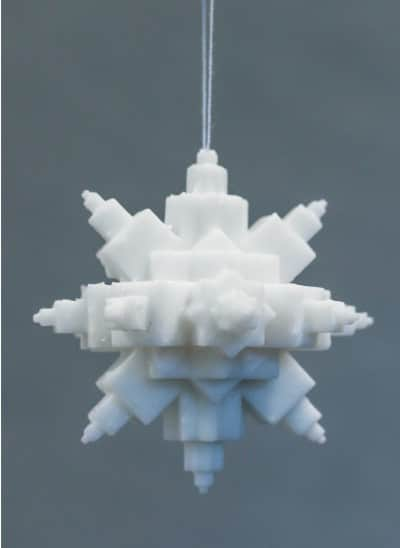 3D printable christmas decorations ornaments