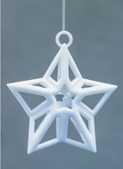 3D printable christmas decorations ornaments 4