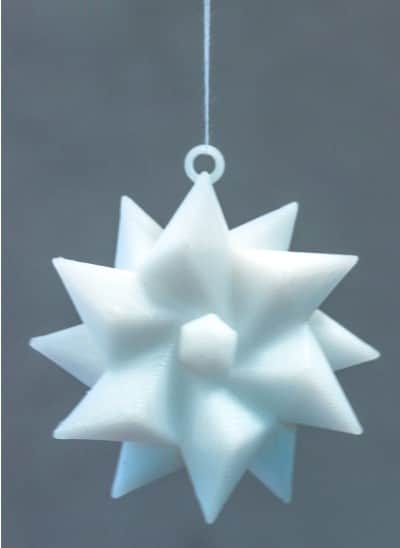 3D printable christmas decorations ornaments 9