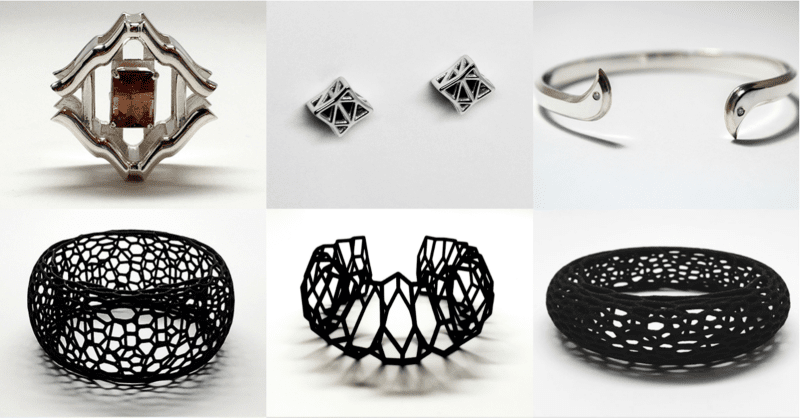 3D printed jewelry designers emily chapman