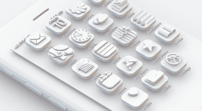 How to make beautiful 3D icons