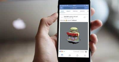 Tips, tricks and inspirations for Facebook 3D posts