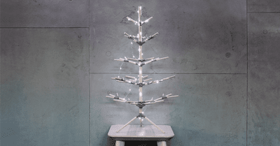 Decorate a 3D printed Christmas tree and win a 3D printer