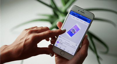 New UX trend: Facebook 3D post mockups for apps