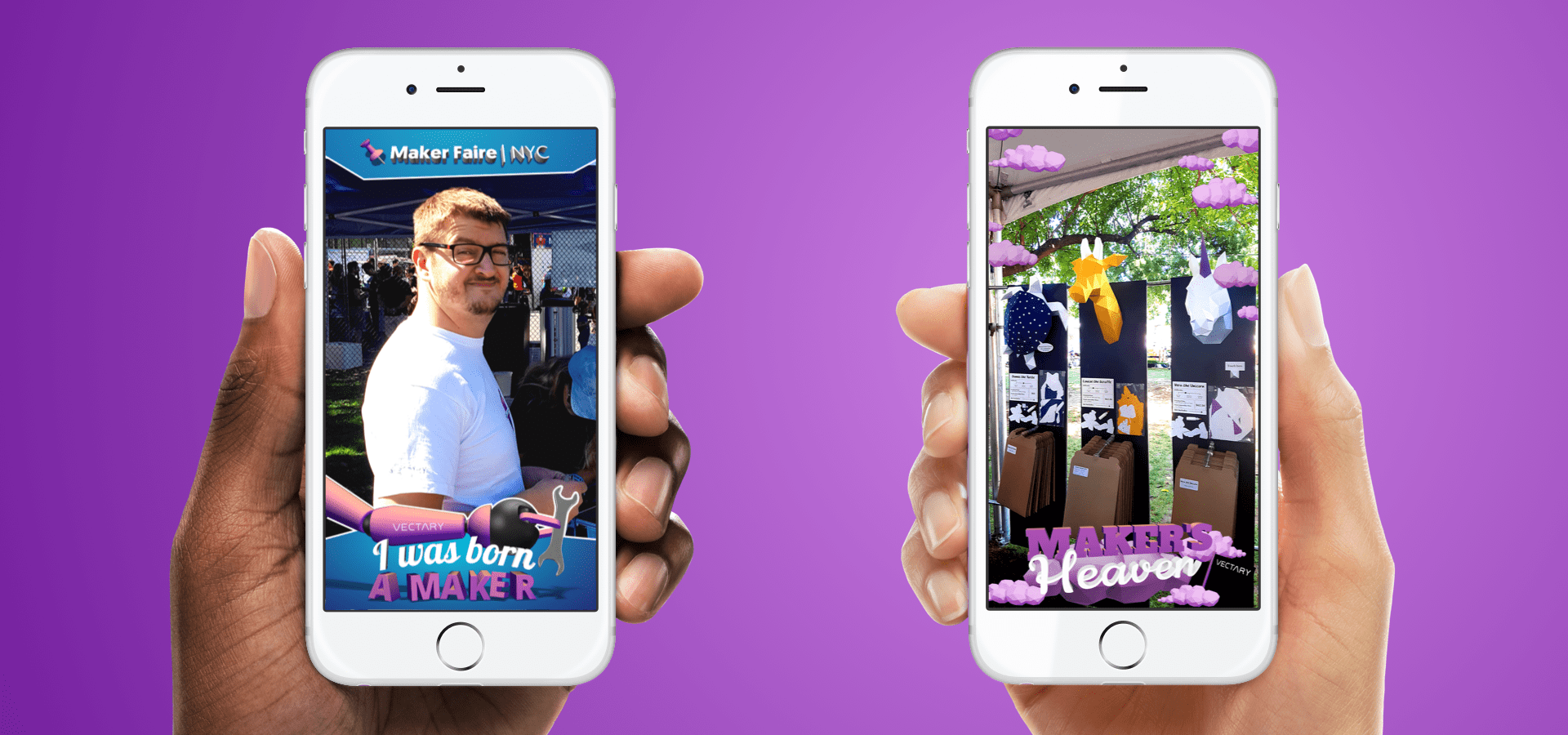 How Snapchat's Geofilters got us to the World Maker Faire