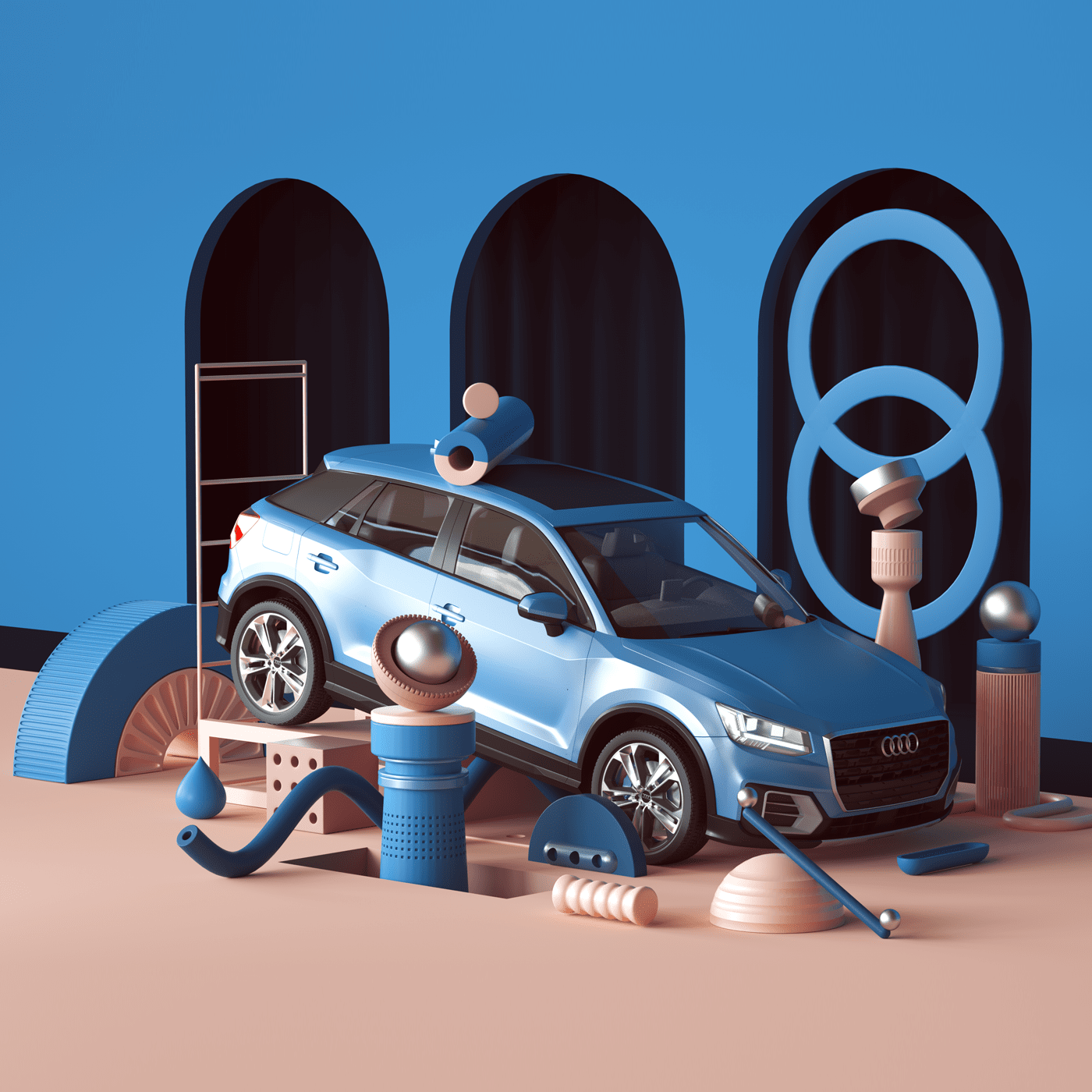 audi-q-behance-project-3D-design-inspiration
