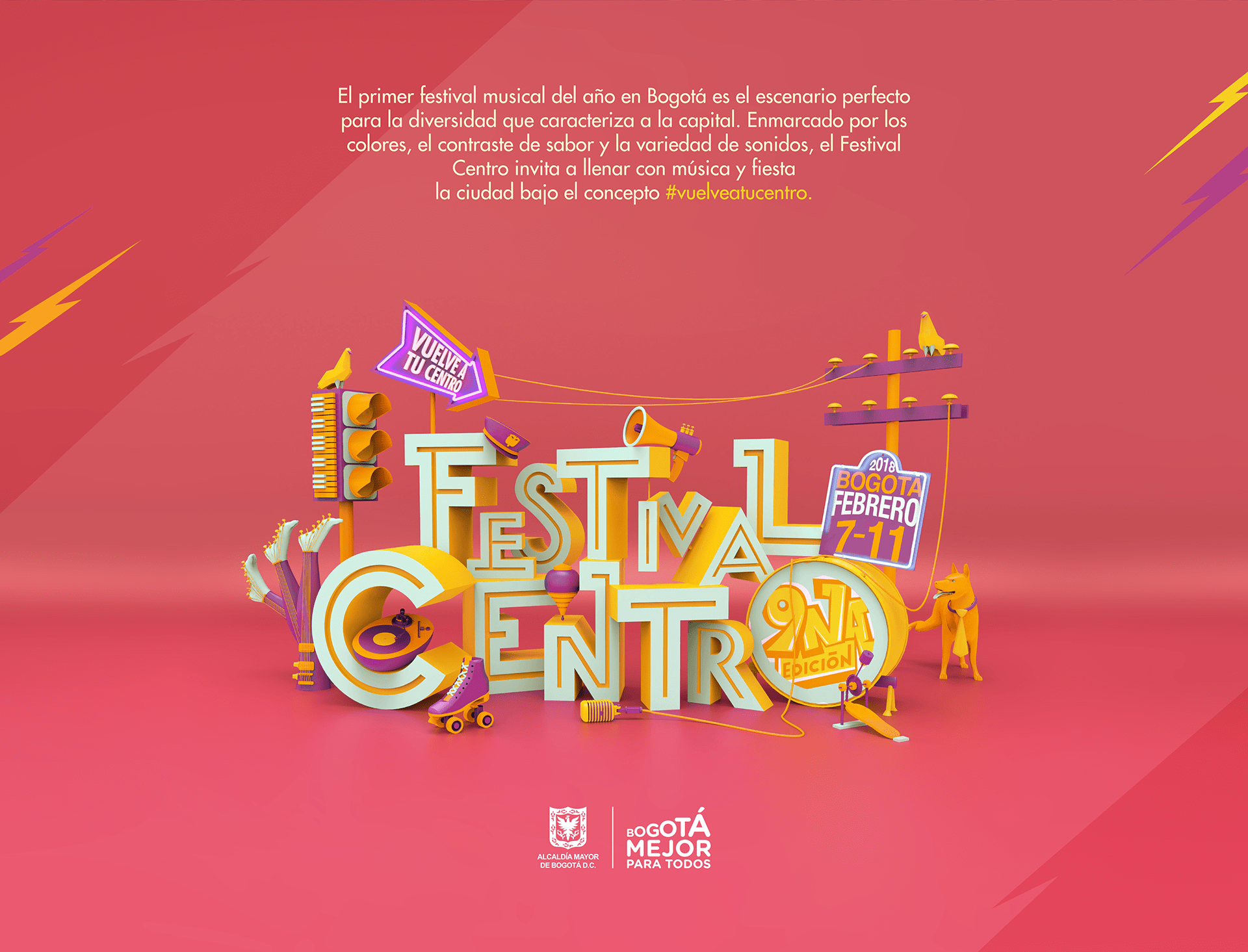 festival-centro-3D-design-text-typography-poster-letters-music-sound-graphic-art