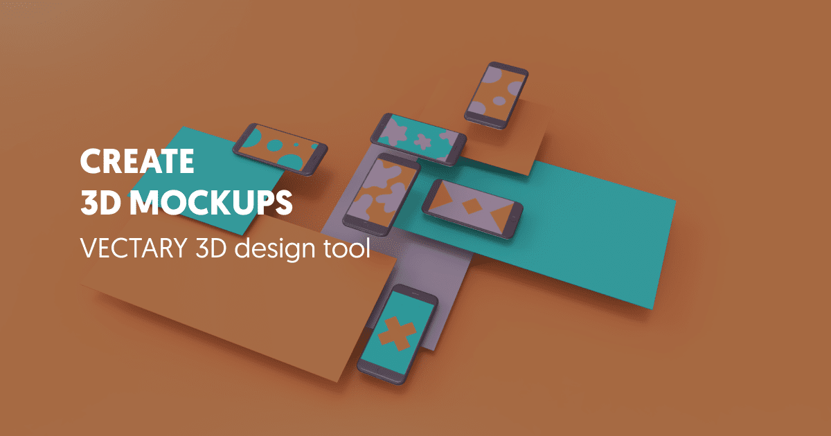 3D mockup templates maker - Create your own