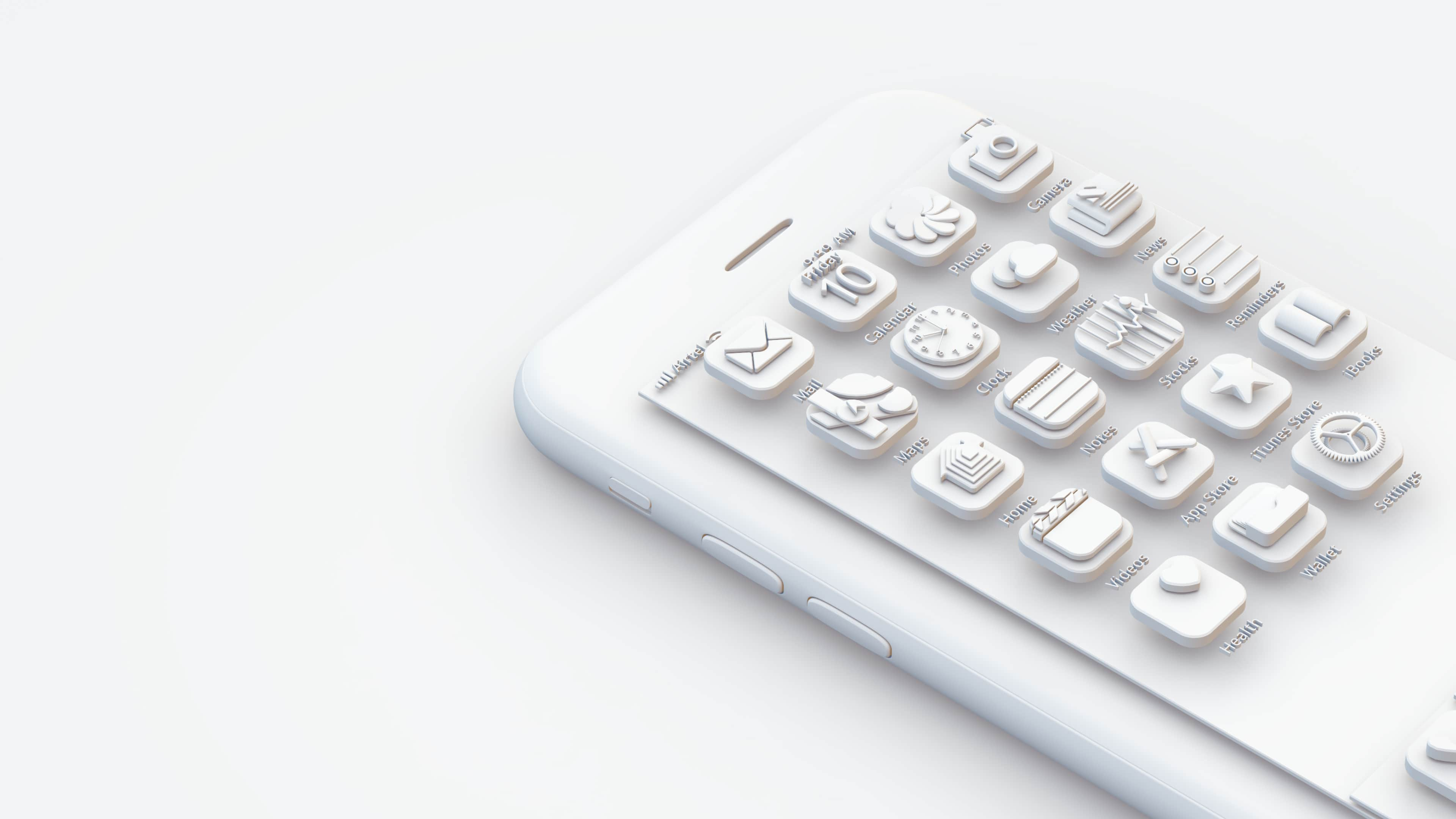 vectary-3D-icons-design-ios-app-monochrome-white-iphone-blog-how-to-rightSide