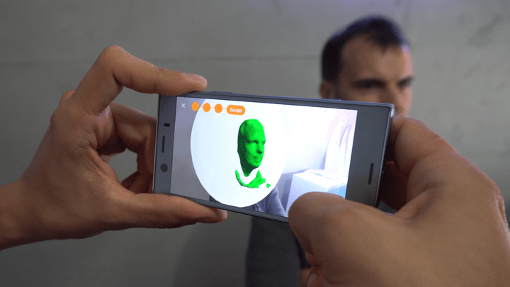 vectary-3D-scan-scanning-sony-xperia-xz1-review-1