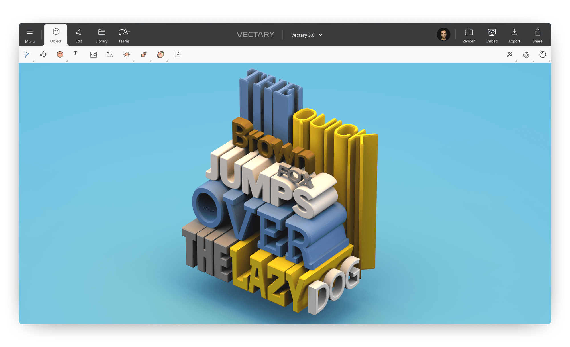 How to create 3d text online and for free
